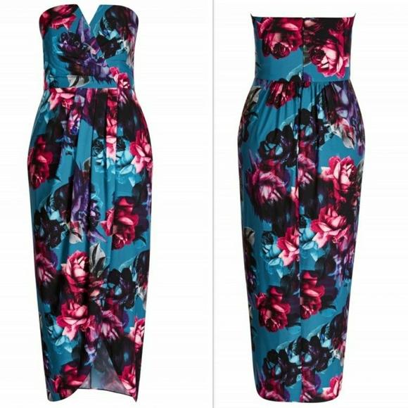City Chic Dresses & Skirts - 🔥🆕➕ CITY CHIC 💜 Strapless Dress